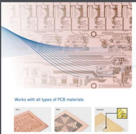 Gravure laser de circuits imprimés LPKF réalisations