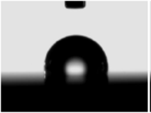 Goniometre de mouillabilité réalisations
